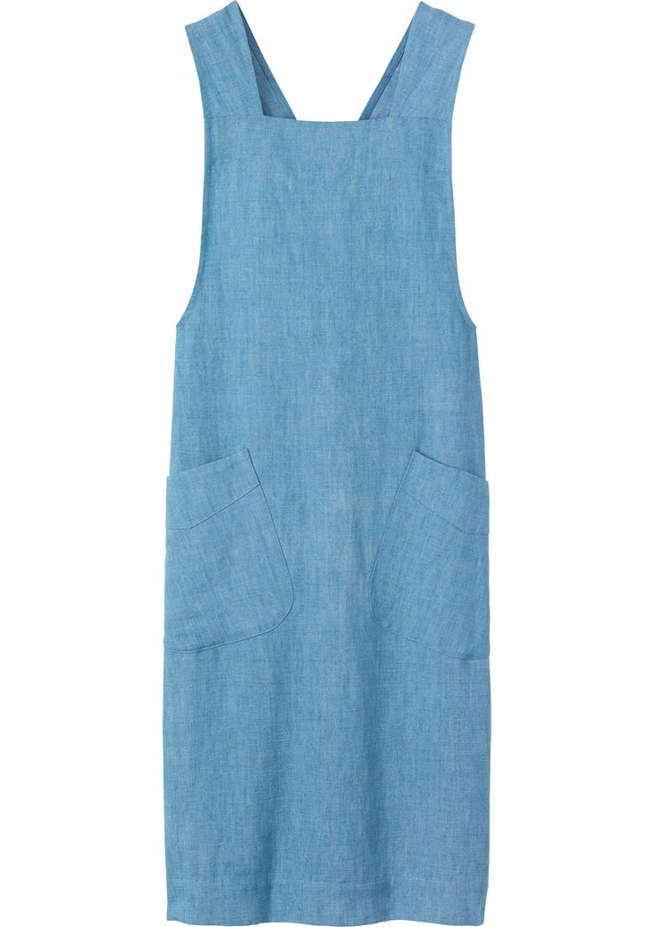 Women's Chambray Cotton Linen Dress £115 | Toast