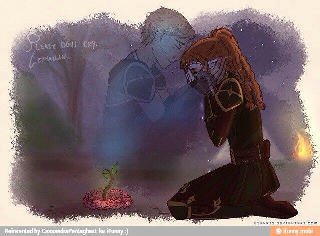 Dragon Age: Origins - Tamlen and the Dalish Warden :( *cries forever*