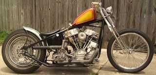 A blog with jokes, girls and quotes, but mostly about cars and bikes. Bobbers, Choppers, and Cafe Bikes a plenty!