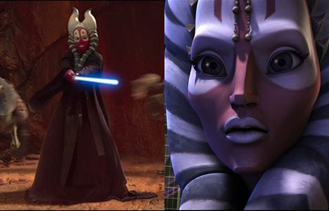 clone wars  shaak ti | Star Wars: The Clone Wars - 22 Movie Peripheral Characters Who Got the ...