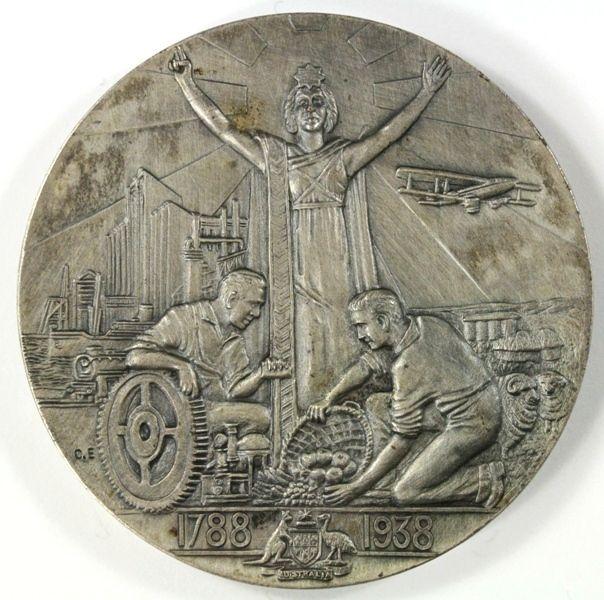 1938 - Australia's 150th Anniversary Celebrations