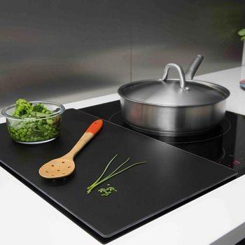 Meuble cuisine pour plaque de cuisson installer une table for Protection meuble cuisine