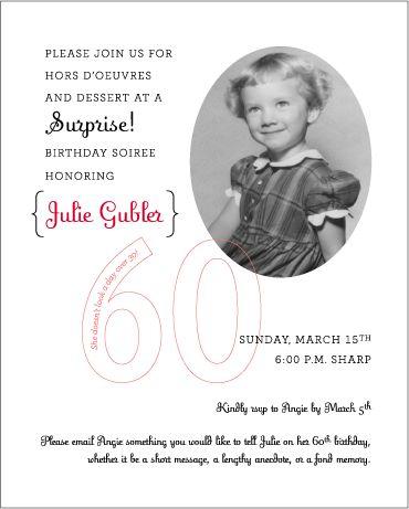 - Blonde Designs Blog - juju's 60th birthdaysurprise