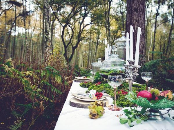Woodland Wedding Inspiration   Claire Penn Photography   One Life Weddings