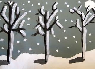 Homeschool science and art together in this lesson on Goya and how we painted trees - Apologia Science  Exploring Creation with Botany #homeschool
