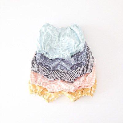 Patron gratis / Free pattern Cubrepañal / Diaper Cover