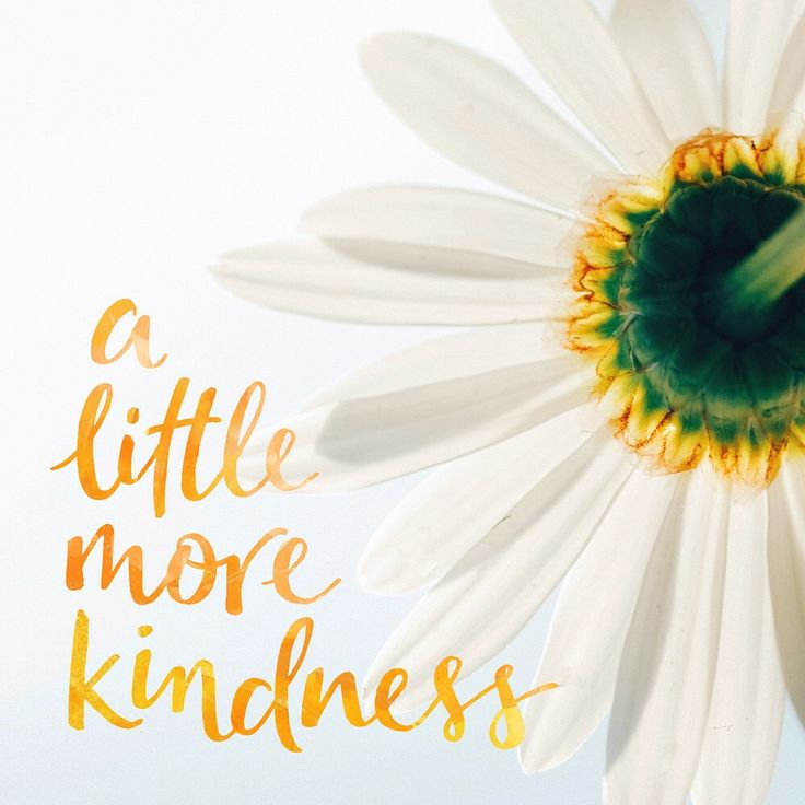 be kind to one another x