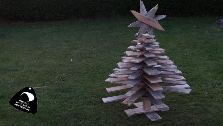 Bare upcycled christmas tree Solid Industries