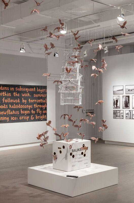 """Balikbayan Bakla Maya"" 2016 installation by JuliusPoncelet Manapul. @ Koffler Gallery Toronto Show ""Yonder"" curated by Matthew Brower and Mona Filip"