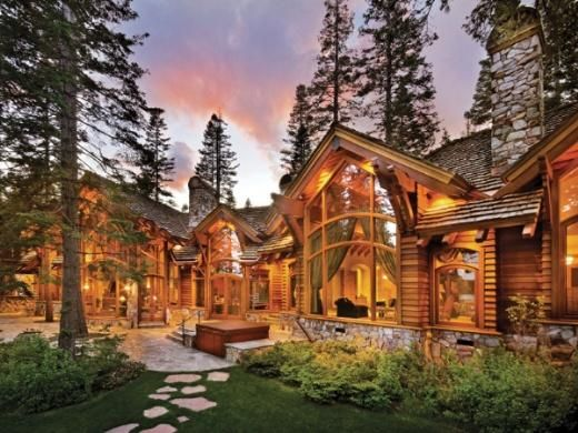 2633 Best Images About Log Cabins Homes On Pinterest