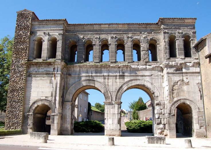 Saint-André gate Augustodunum (Autun), France The city of Autun was founded during the Principate era of the early Roman Empire by Emperor Augustus as Augustodunum to give a Roman capital to the...