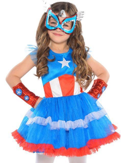 American Dream Tutu Dress for Girls - Party City