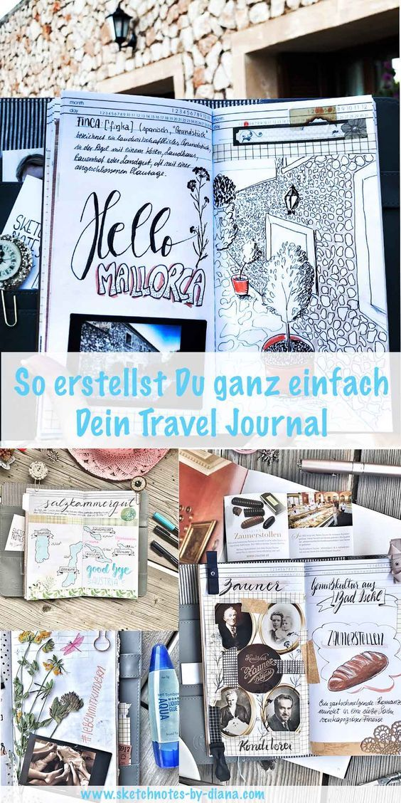 That's how you easily create your Travel Journal