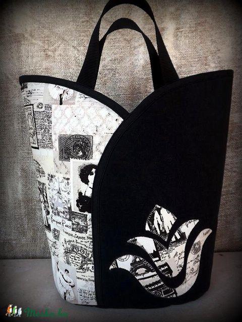 Meska - Tulipános táska-
