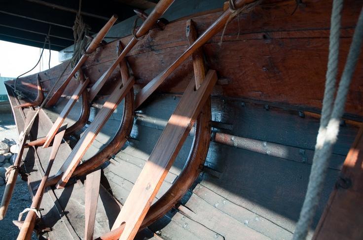 Bordfyldt solstrejf - Roskilde Viking Ship Museum