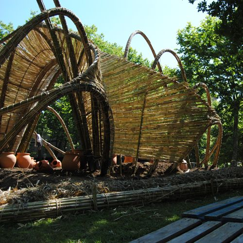 64 best images about bamboo sculptures on pinterest for Jardines 6 bilbao