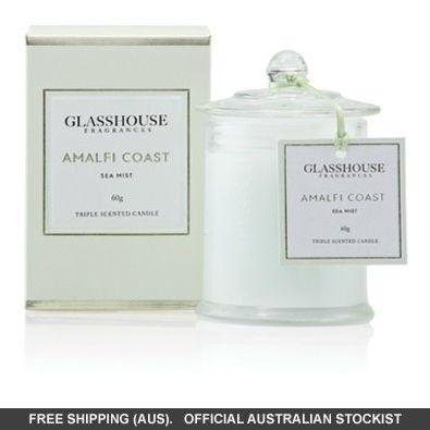 Glasshouse Amalfi Coast Mini Candle - Sea Mist 60g #adorebeautydreamhaul