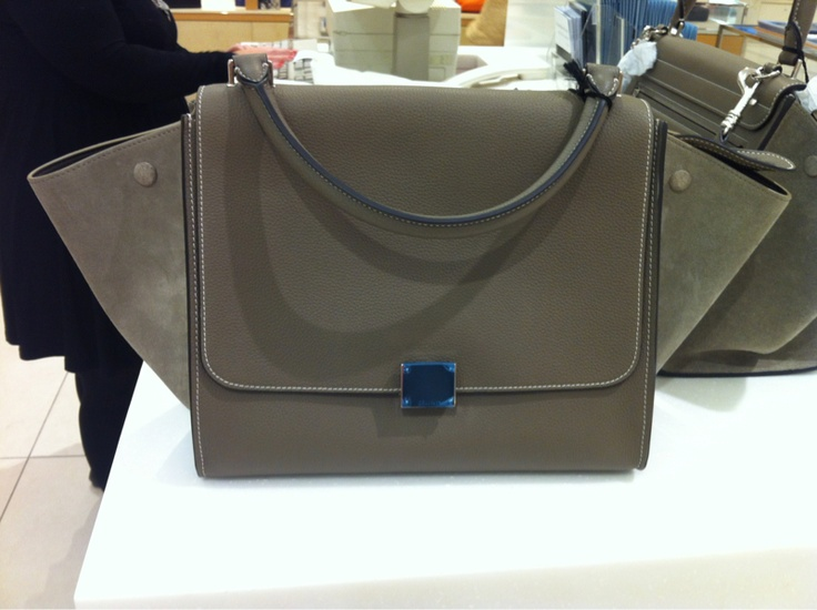 My favorite bag - Celine Trapeze in Taupe   Products I Love ...
