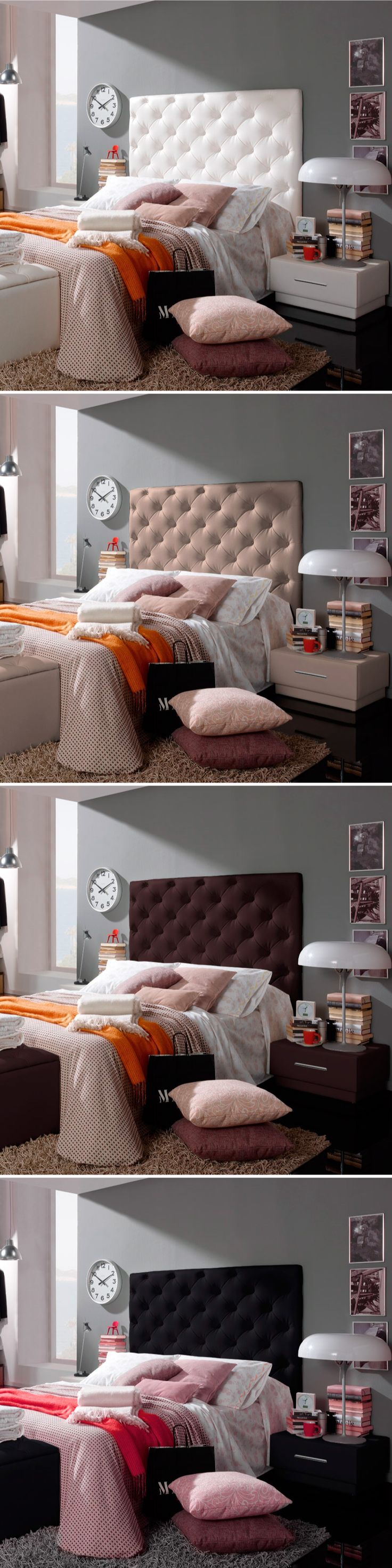 110 best Capitone images on Pinterest   Furniture, Bedrooms and ...