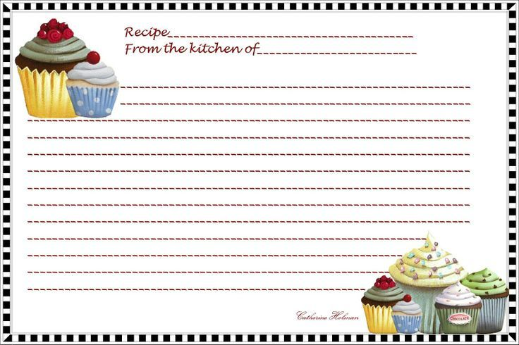 19 best Recipe card images on Pinterest Printable recipe cards - recipe card