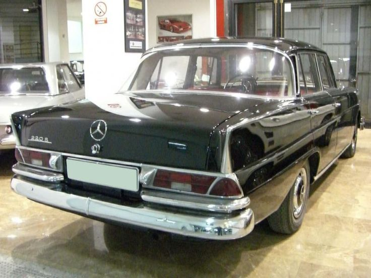 Antequera Classic - MERCEDES BENZ 220 S COLAS W111 - 1964