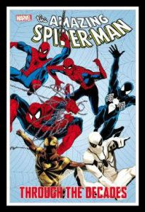 Spider-Man Through The Decades Spider-Man: a hero in every age! Watch as Spidey matures from a high-school student fighting Sandman to a desperate hero battling the Green Goblin to the death! http://theceramicchefknives.com/marvel-gift-ideas-amazing-spiderman/