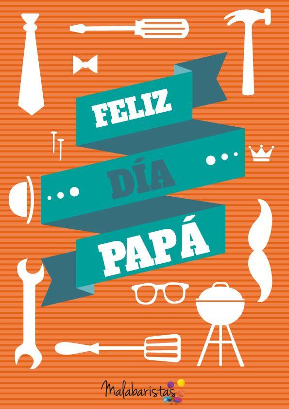 Nuevos malabares descargables en nuestra tiendita!!  Lámina: Feliz dia papá. Dia del padre -  #onselz