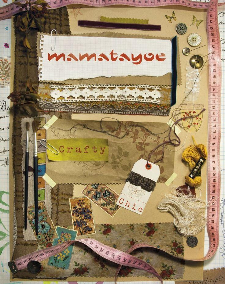 """Crafty Chic"" by Mamatayoe. Postcard. OI14."