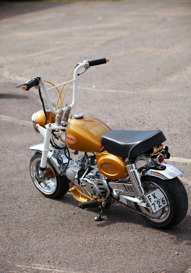 30 best custom mini bike honda monkey z50j images on. Black Bedroom Furniture Sets. Home Design Ideas