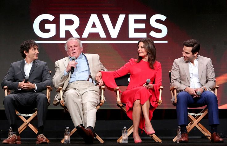 "#TV Sela Ward - EPIX ""Graves"" TV Show Panel at TCA Summer Press Tour in LA 07/25/2017 