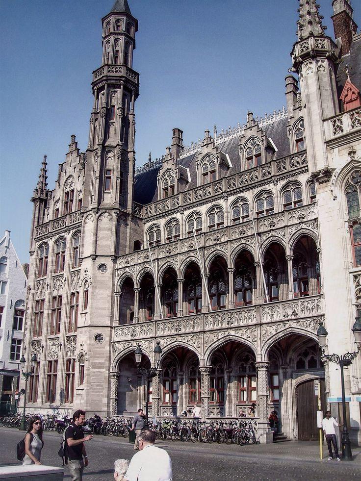 Edificio del Historium Brugge (Brugge - Belgium)