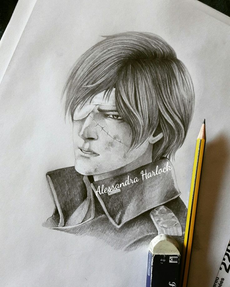 Young Harlock ♡