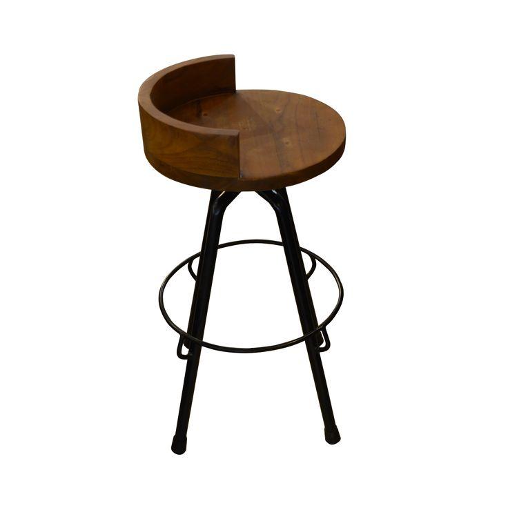 Bar Chair - Industrial 3. Industrial inspired bar chair