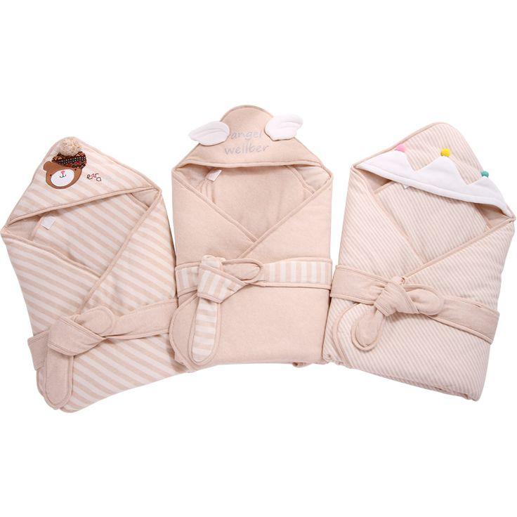 Baby Swaddling Blankets Infant Sleeping Sack Soft Baby Blankets Baby Receiving Blanket warm cobertor Newborn Swaddle Wrap #Affiliate