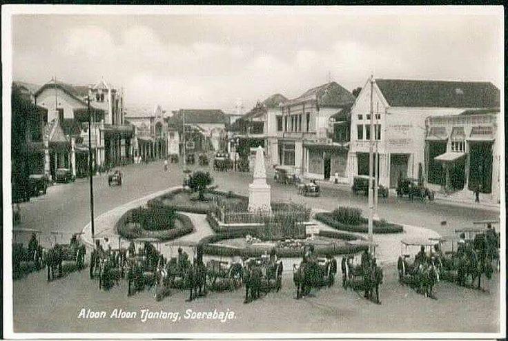 Alon-alon Tjontong circa 1920