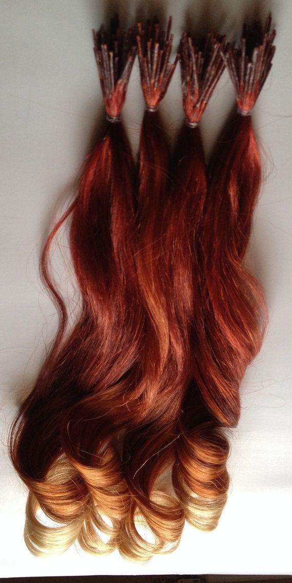 167 best hair extensions images on pinterest hairstyles red ombre hair to copper human hair extensions keratin glue tipped hair for fusion linkies micro links crimp beads shrinkies dip dyed pmusecretfo Choice Image