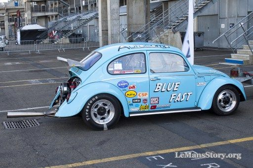 Autocomp blue fast Race Beetle custom vw beetle pictures super vw festival le mans france 2015