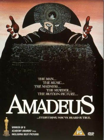 Amadeus [DVD] [1984]: F. Murray Abraham, Tom Hulce, Elizabeth Berridge, Simon Callow, Roy Dotrice, Christine Ebersole ~ Clever & very watchable film about Mozart ~ For Film & TV