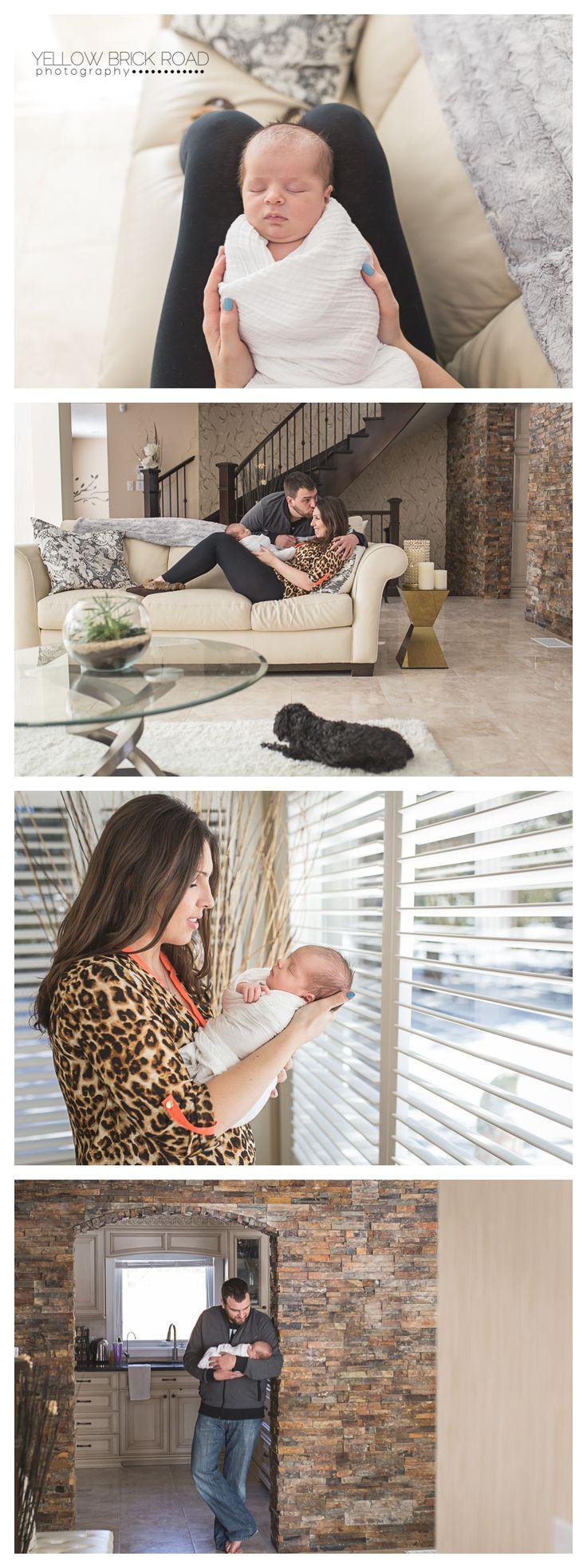 Kitchener Newborn Lifestyle session #newbornphotography #newborn #lifestyle #inhomesession #yellowbrickroadphotography