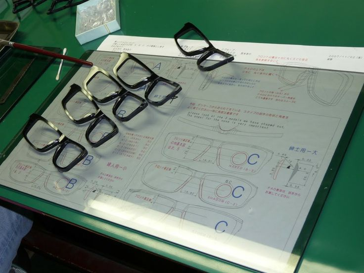 Orgreen frames crafted in Japan