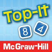 The Subtraction Top-It game by McGraw-Hill offers a quick and easy way to practice and reinforce 2-digit subtraction computation and number comparisons. This two-player game runs on the iPad, iPhone, and iPod Touch.