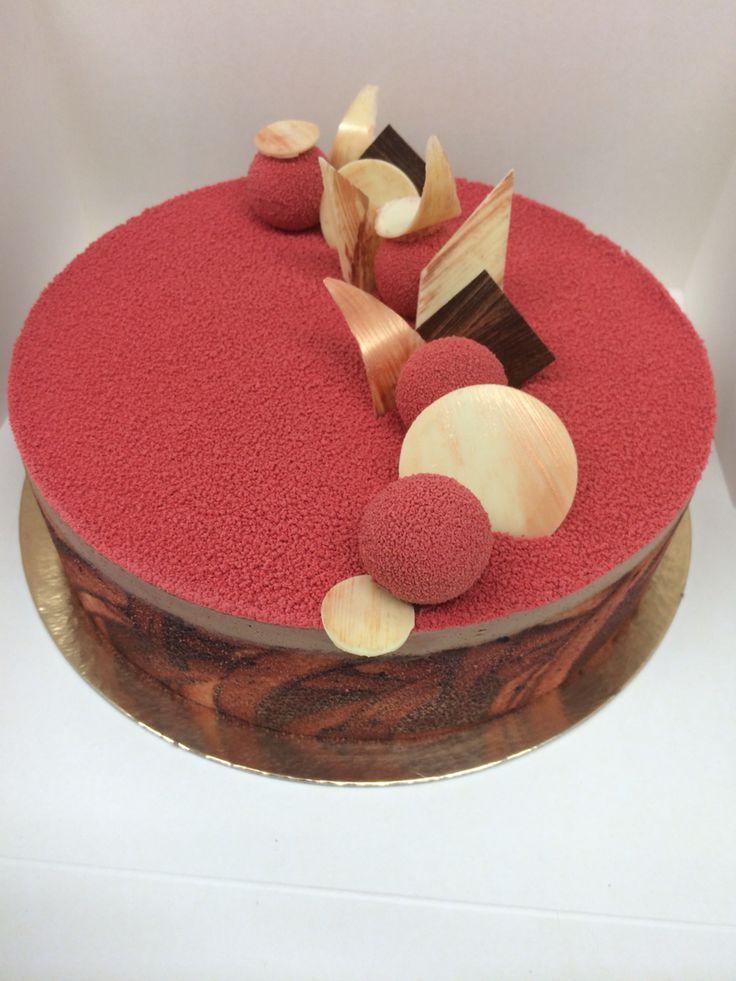 Chocolate cake by pastry chef estefhan meijer patisserie