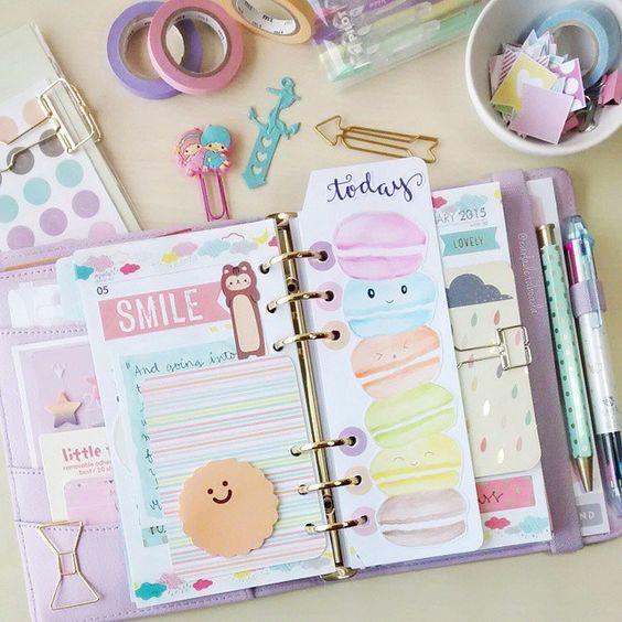 Mon mini Filofax : Organise ta vie en quelques listes. (Printable et video inside)   EclectiK Girl