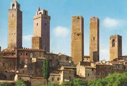 Le torri di San Gimignano! wow