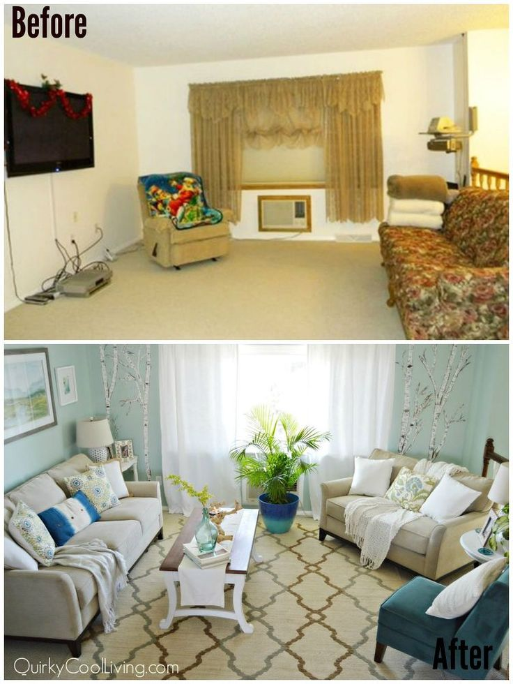 Living Room And Dining Makeover On A Budget