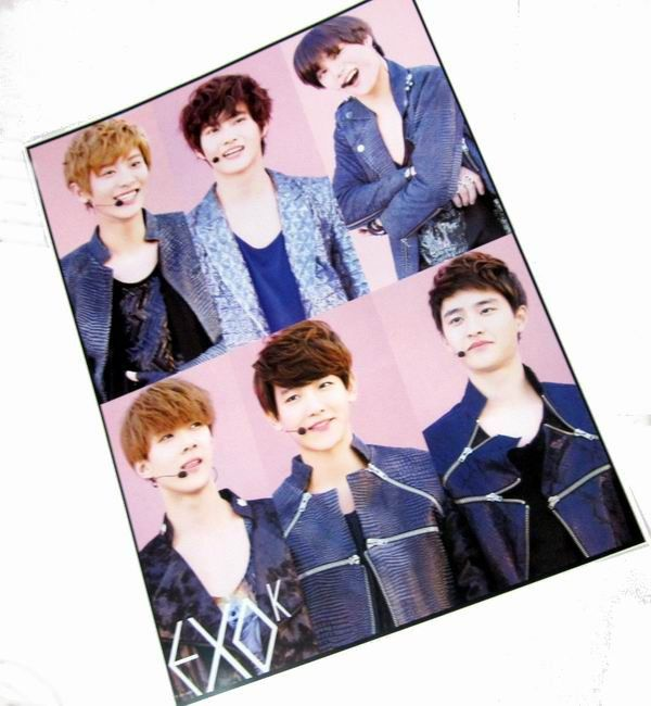 K-Pop EXC Posters EXPT2311 | Kpop, Exo and Kpop merch