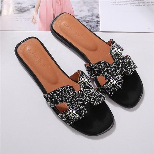 ecd4bb70 2018 women slides shoes ladies summer slippers footwear designer ...