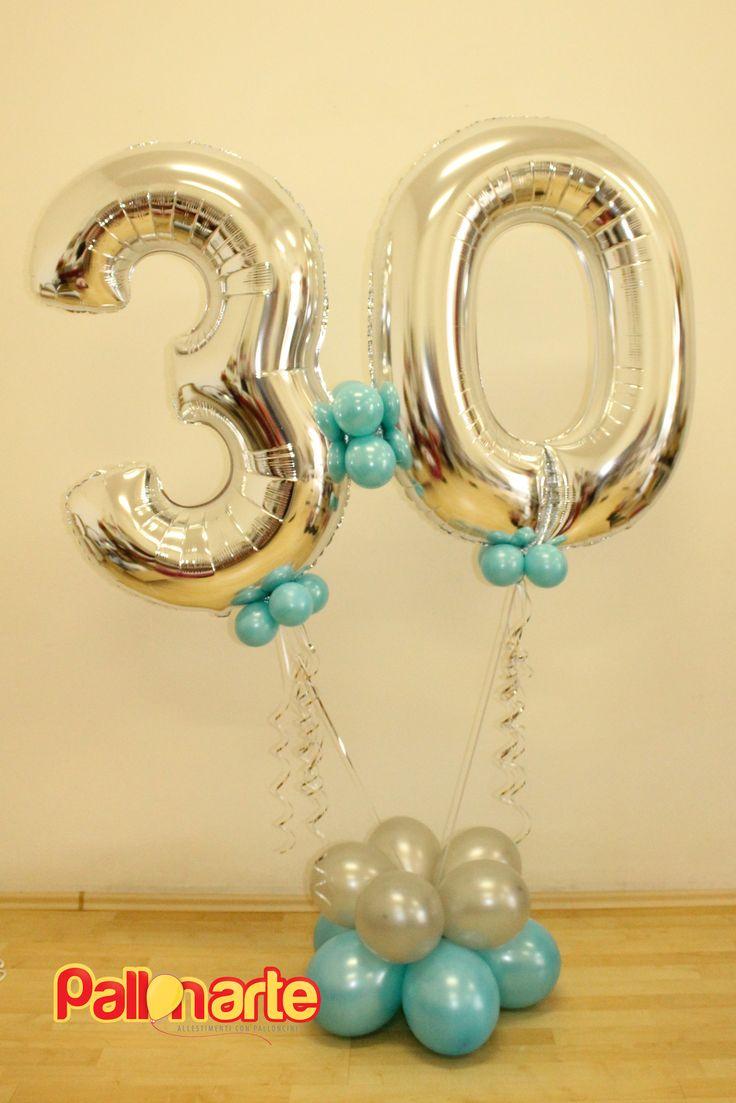 mylar balloon number birthday original palloncini grosseto globos numero compleanno tiffany argento