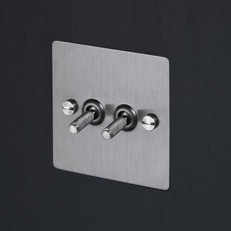 Light Switches - Steel