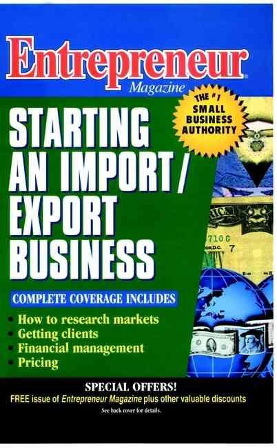 Entrepreneur Magazine: Starting an Import/Export Business